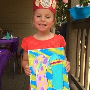 Summer Painting Fun