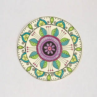 Creative Doodling: Radial Design