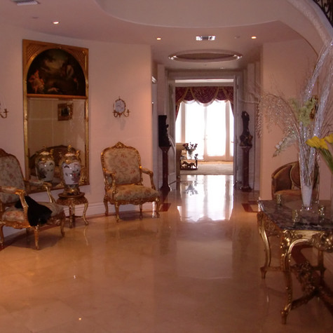 image of a foyer in a client home