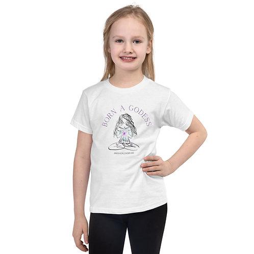 AKASHIC ALCHEMY BORN A GODDESS Short sleeve kids t-shirt