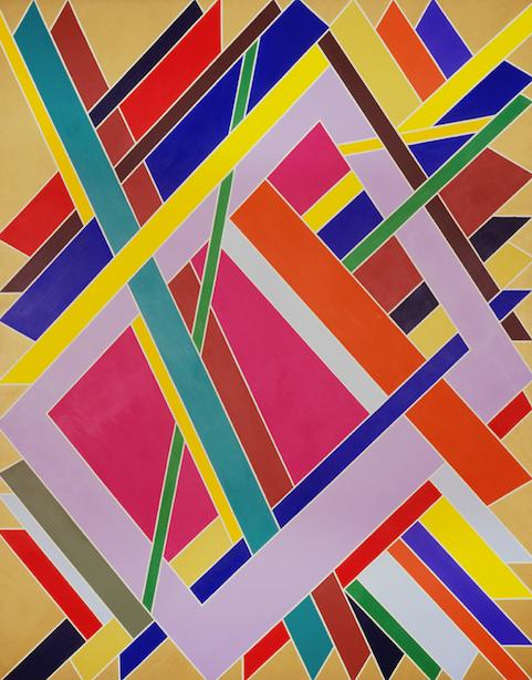 William T Williams, Trane, 1969 Studio Museum in Harlem (New York, USA)