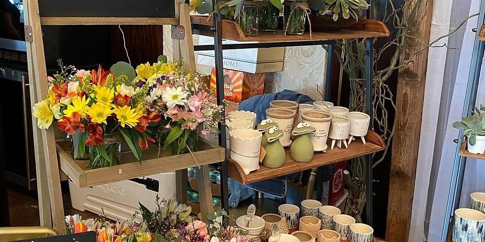 The Market at Maison, Sunday, 11 am