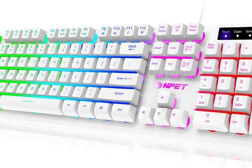 White RGB Keyboard