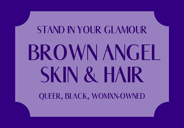 Brown Angel Skin & Hair logo 2020 #32008