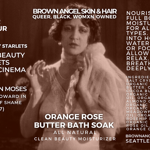 Orange Rose Butter Bath Soak