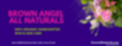 Brown Angel All Naturals Facebook Cover.