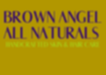 Brown Angel All Naturals logo.png