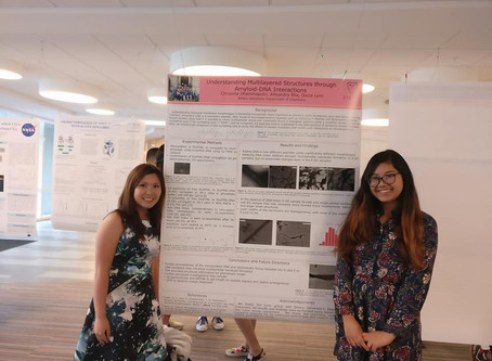 Christella and Mandy Rock the Undergraduate Research Symposium '17
