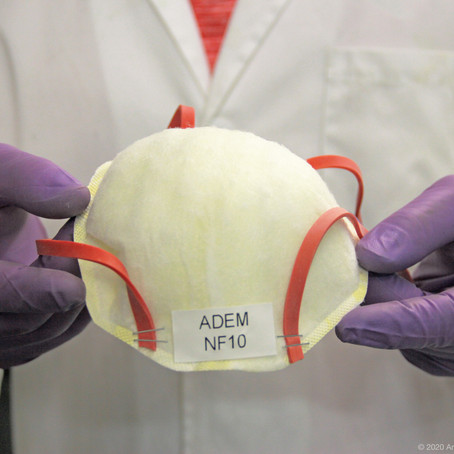 UofL energy researchers using expertise to develop cost-effective, reusable N95 mask