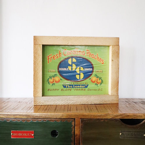 Vintage Produce Crate Signs