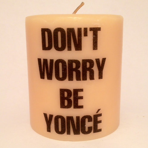Pillar Soy Candle- Be Yoncé