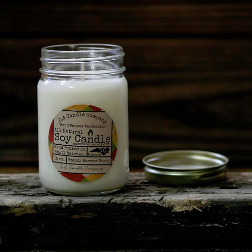 PKUP-12 oz Harvest Berry Soy Candle