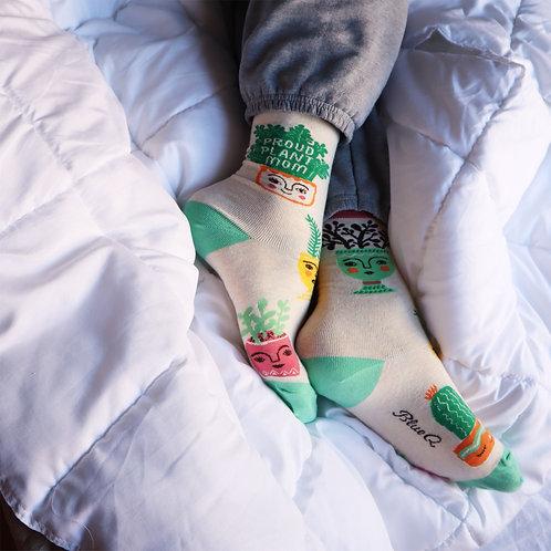 Plant Mom Socks