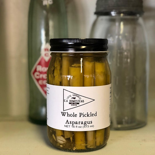 16 OZ WHOLE PICKLED ASPARAGUS