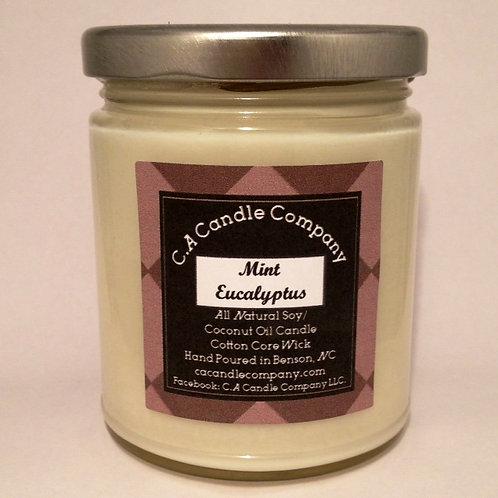 9oz Mint Eucalyptus Wearable Candle