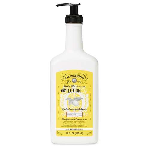 18 OZ. DAILY MOISTURIZING LOTION - LEMON CREAM