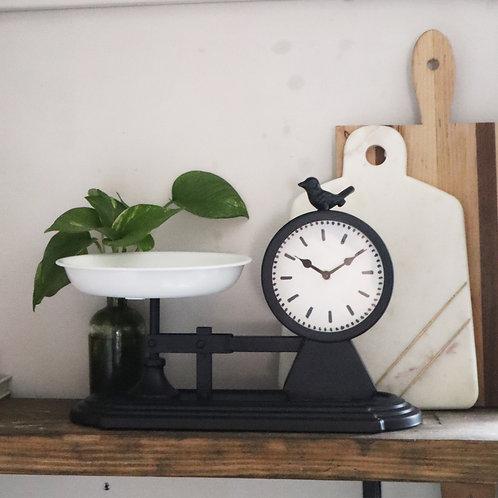Birdie Scale Clock