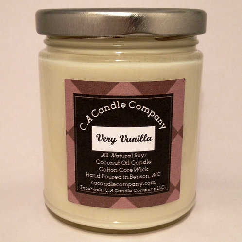 9oz Very Vanilla Wearable Candle