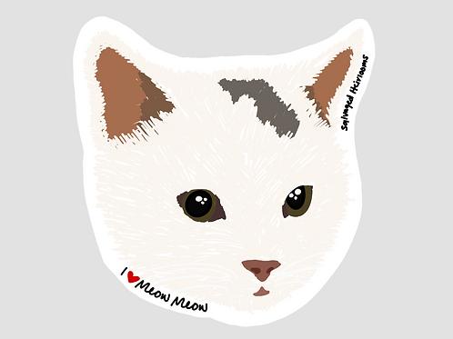 Meow Meow Sticker