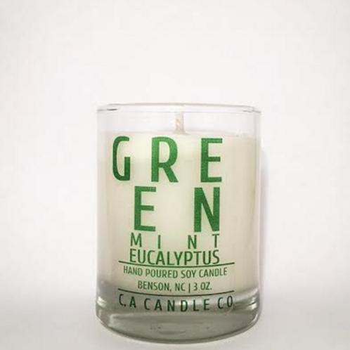 GREEN Mint Eucalyptus