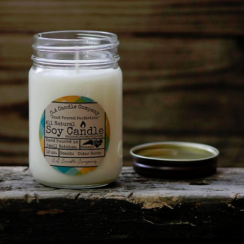 PKUP-12 oz Outer Banks Soy Candle