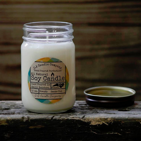 PKUP-12 oz Smoke Out Soy Candle