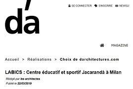 Articolo rivista D'architecture.jpg