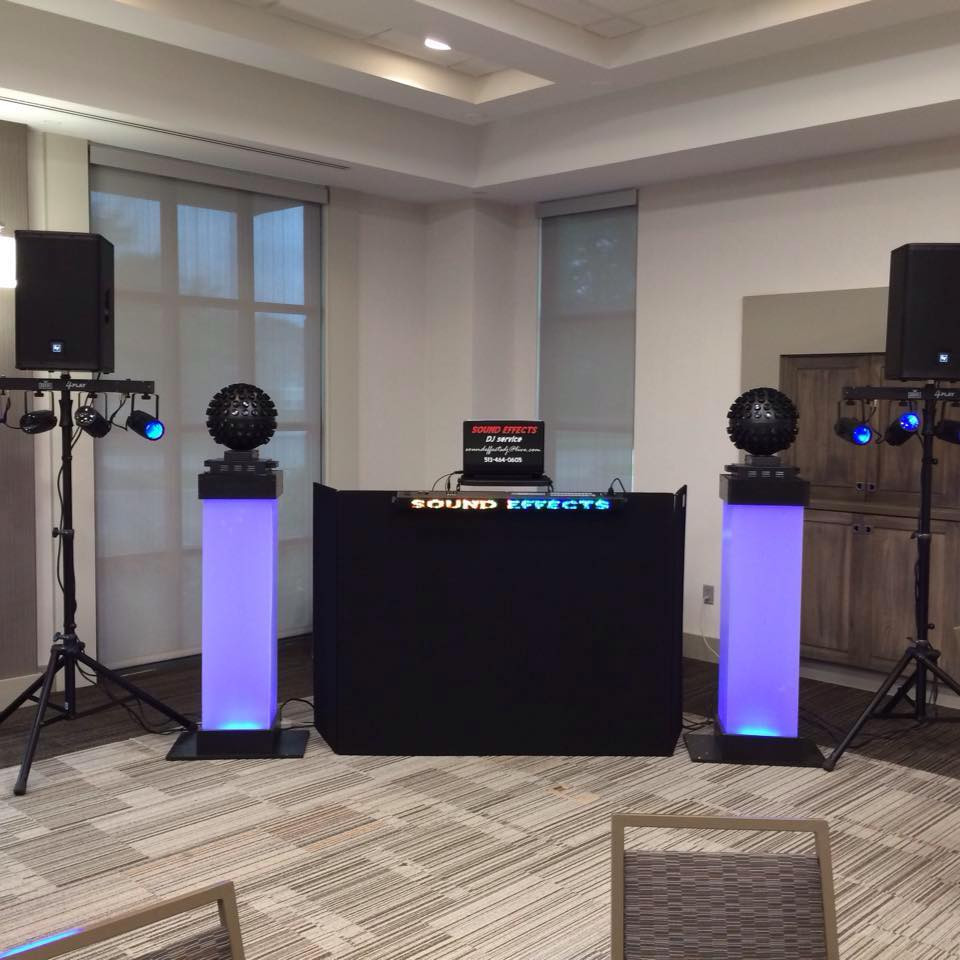 Perfect setup for Receptions!
