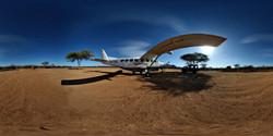 Bush Airstrip in Samburu, Kenya