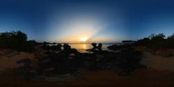 Sunset on Wasini Island - Kenya