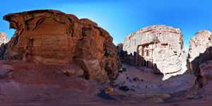 Treasury Building in Petra - Jordan