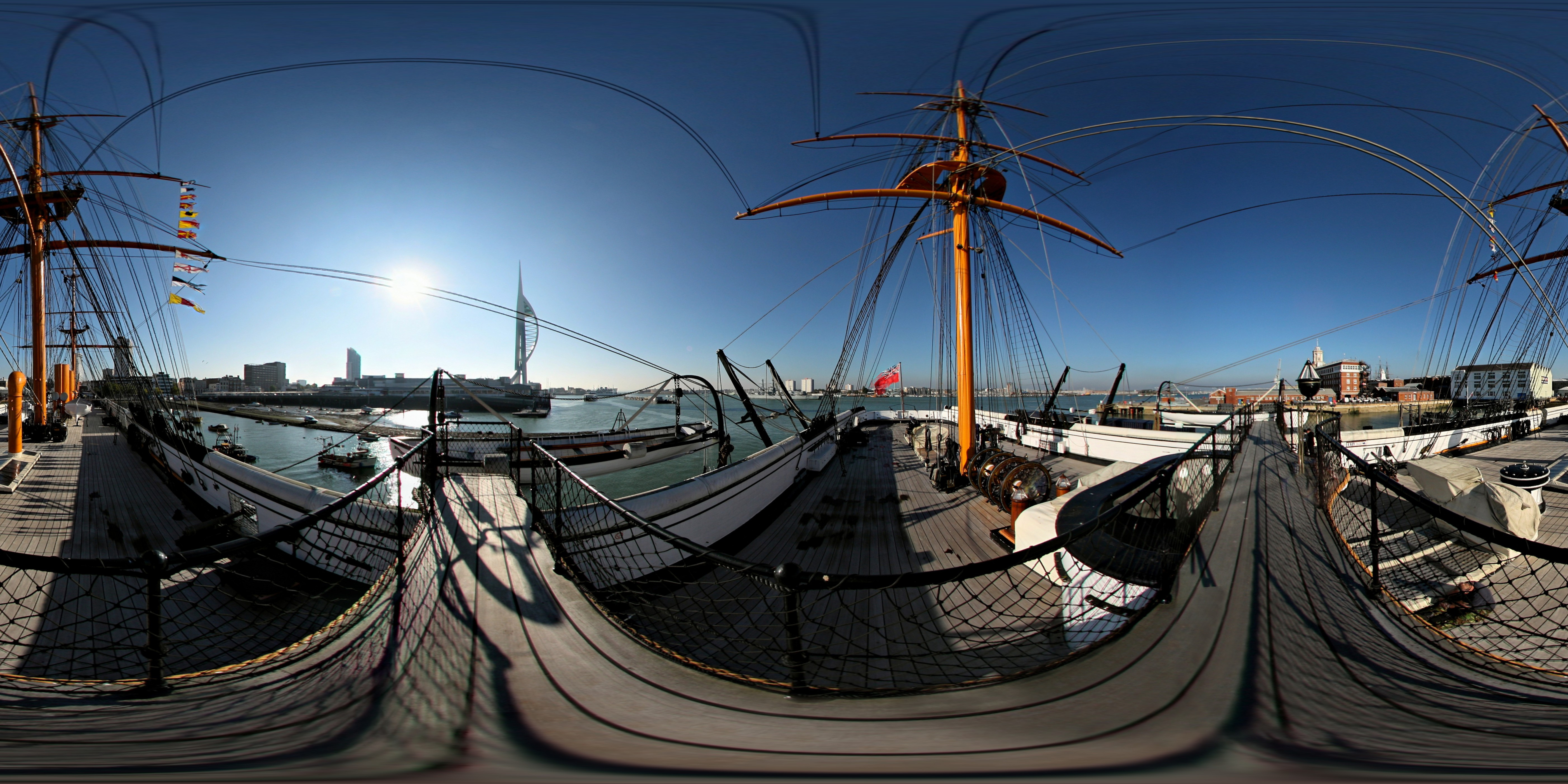 HMS Warrior - Portsmouth Docks