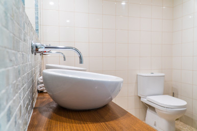 Bathroom His and Her sink