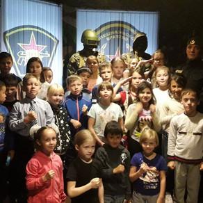 Ребята из Города Идей побывали на экскурсии в музее боевой славы спецназовского братства.
