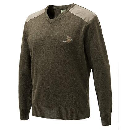 Beretta pheasant v neck sweater - XXL