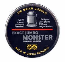 JSB match diabolo - Exact jumbo monster 5.5mm