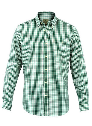 Beretta long sleeve sky & green shirt