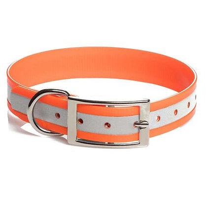 Mendota duraflect standard collar 1''x22'' - orange