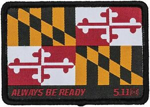 5.11 MARYLAND FLAG PATCH