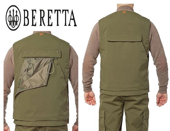 Beretta multiclimate vest dark green