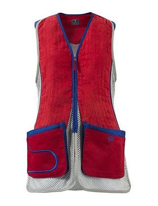 Beretta womans DT11 vest navy & silver - Med