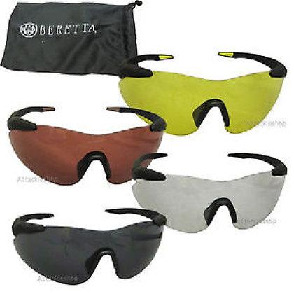 Beretta challenge shooting glasses - Red