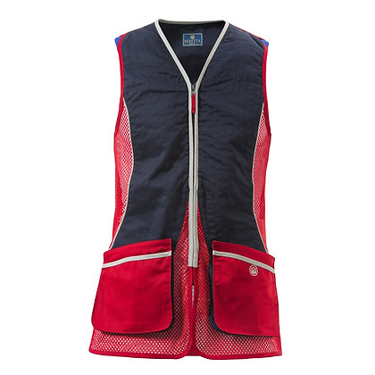 Beretta silver pigeon red & blue vest - Large