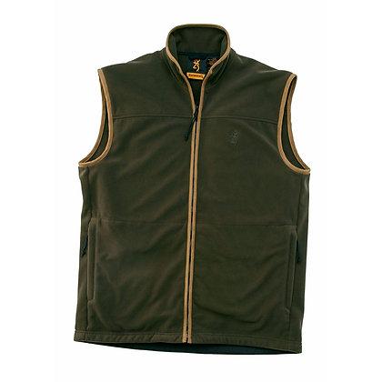 Browning windsor fleece vest dark green - XXL