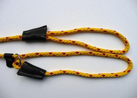 Sporting Saint duluxe slip lead 8mmx1.5m - Yellow