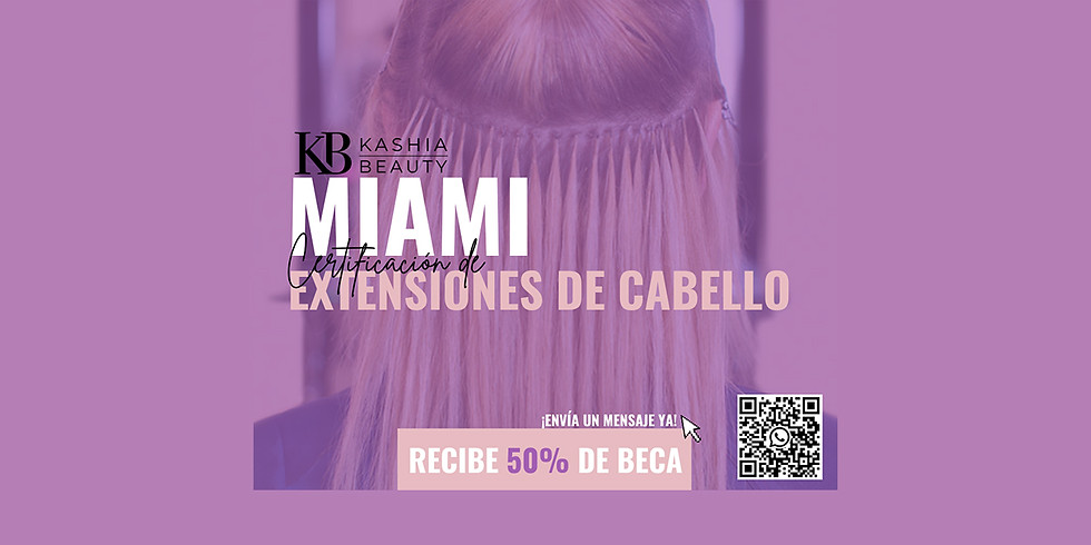 Certificación de Extensiones de Cabello Miami