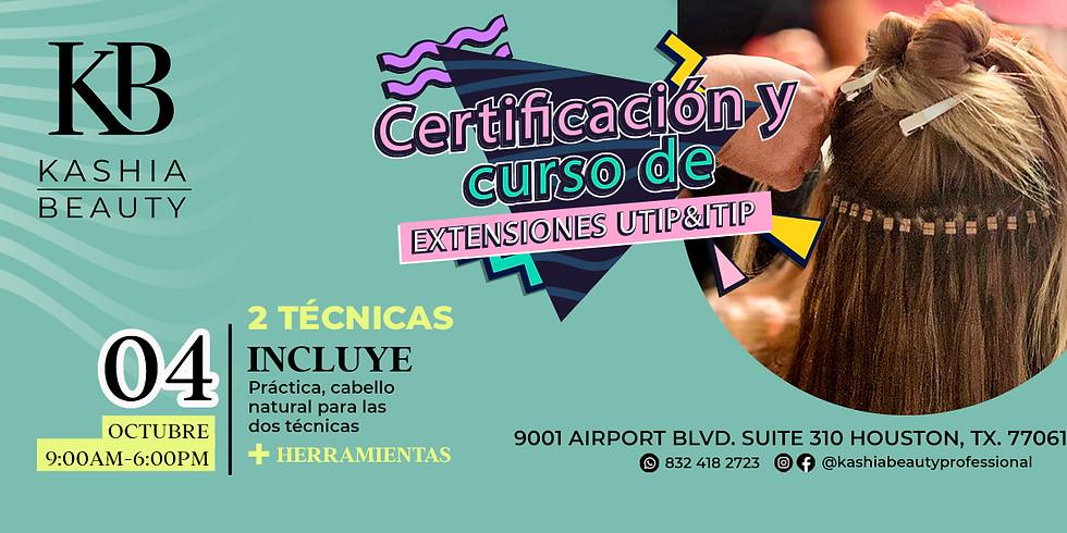 Certificación y Curso de Extensiones Utip & Itip