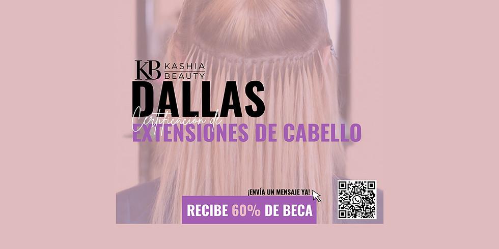 Certificación de Extensiones de Cabello Dallas