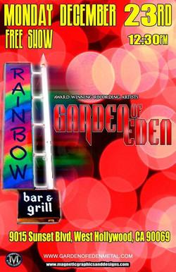 GOE Rainbow 23 Dec
