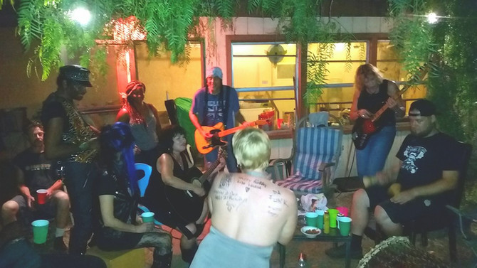 What a great night such awesome people and amazing musicians it felt so good to play ~ I LOVE LA!